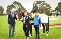 Australian Young Horse Champions show their form
