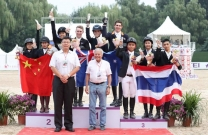 Australian Junior Jumping Team wins FEI Nations Cup in Beijing